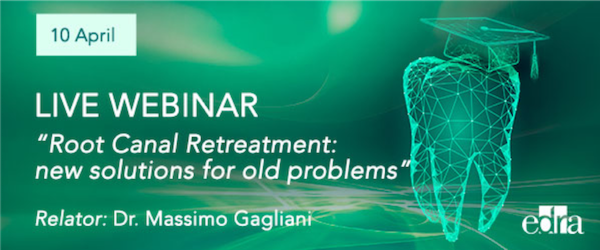 on 10th April, Live webinar with Prof. Gagliani